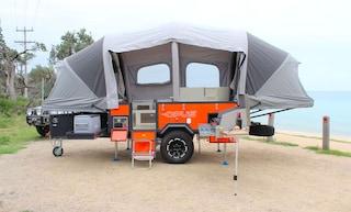 Air Opus, il camper che si gonfia in 90 secondi