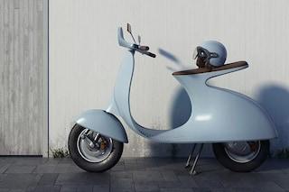 Vespampère, la classica Vespa 98cc torna a nuova vita