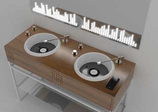 Vinyl, il lavandino per gli amanti della musica