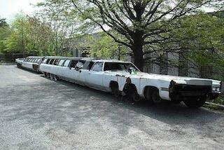 Il triste destino della limousine più lunga del mondo