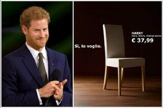 Altro che Royal Wedding, da IKEA Harry è sempre disponibile