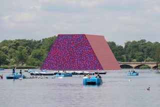 The London Mastaba: la nuova opera di Christo ad Hyde Park