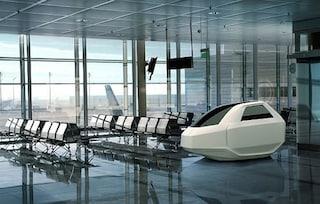 Airpod, la capsula per rilassarsi e dormire in aeroporto