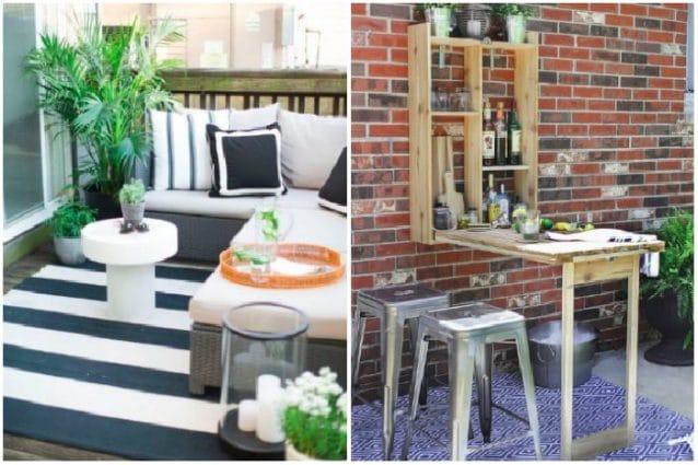 Le migliori idee per arredare terrazze e balconi for Arredare terrazzi piccoli
