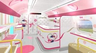 Hello Kitty Shinkansen, il treno ad alta velocità più tenero al mondo