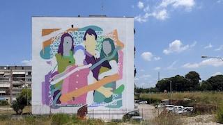 Napoli est, al Parco dei Murales la nuova opera firmata Zeus40