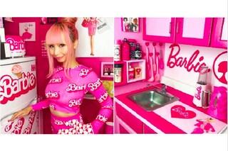 Azusa Sakamoto, la Barbie girl che ha trasformato il suo appartamento nella casa di Barbie