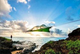 Tree tents, la prima tenda a tre elementi perfetta per terra, acqua e aria