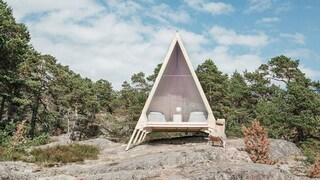 Nolla, la mini casa a impatto zero per dormire immersi nella natura