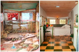 Bluebird Penthouse, da fatiscente caravan anni Cinquanta a lussuosa casa per le vacanze