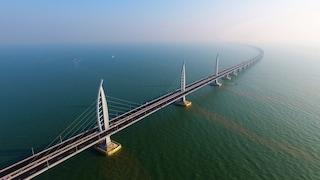 Cina, da Macao a Hong Kong sul ponte più lungo del mondo