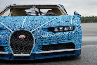 LEGO costruisce una Bugatti Chiron in scala reale e guidabile