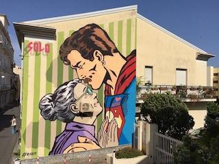 Operazione street art: a Diamante le abitazioni diventano quadri