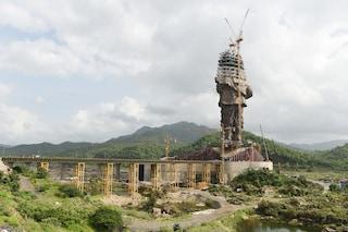 Statue Of Unity, la statua più alta del mondo sta per essere completata in India