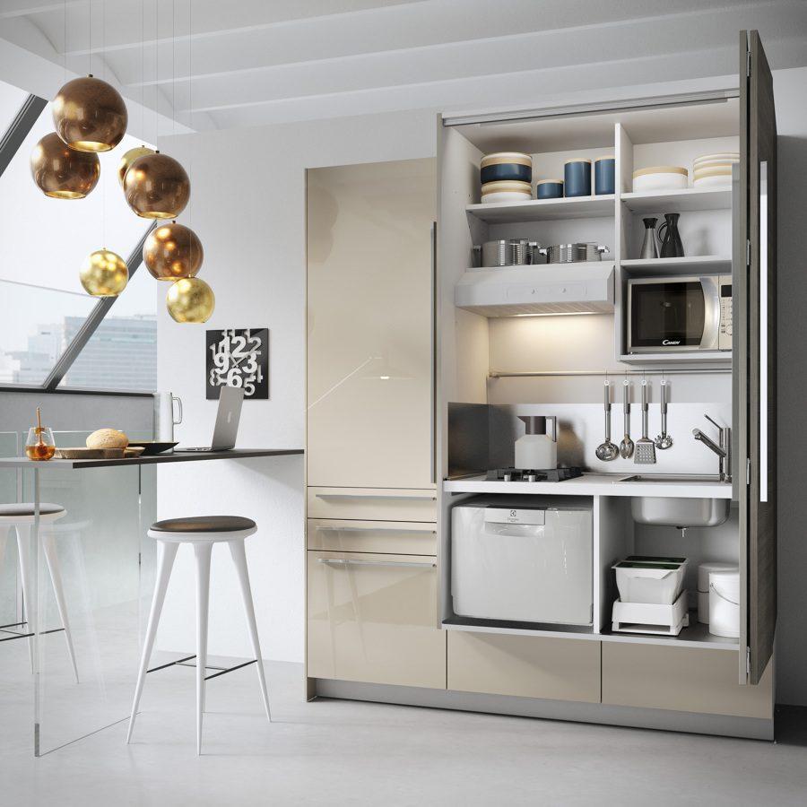 Mobili Per Cucina Piccola cucina piccola: 5 consigli utili per arredare