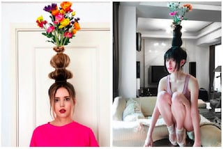 Flower Vase Hair, l'ultima tendenza di Instagram per i capelli
