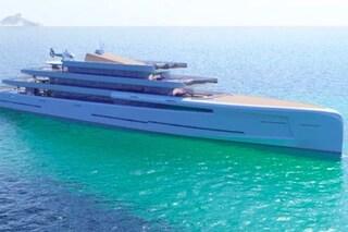 Mirage, il superyacht invisibile che scompare nel mare