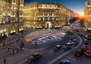 Napoli, Studio Fuksas presenta la nuova Stazione Duomo della Metropolitana dell'arte
