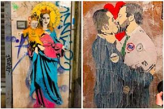 Chi è TVboy, lo street artist che sta invadendo Milano
