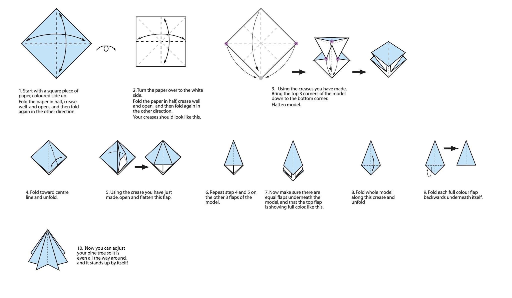 Stelle Di Natale Da Costruire origami natalizi facili da realizzare: 10 idee di lavoretti