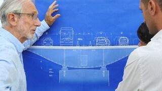 Il nuovo ponte di Renzo Piano per Genova: 43 lampioni per le 43 vittime del crollo