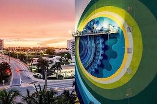 Miami, la Kaleidoscopic Street Art di Hoxxoh