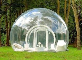 Bubble Room, dormire sotto una bolla in Puglia