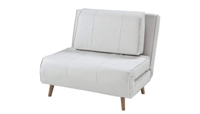 Poltrona letto in pelle Wink Design