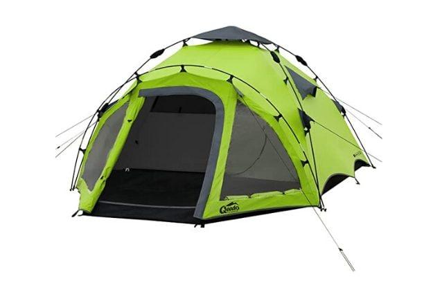 10T Mailand Tenda cupola 4 persone Tenda famiglia Tenda camping impermeabile 5000mm + cabina 8,6 mq