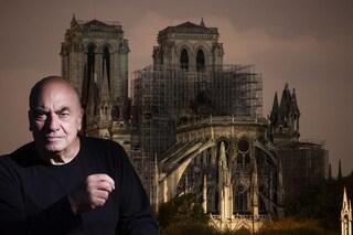 """Notre Dame, Fuksas parla di ricostruzione: """"Abbiamo immaginato una guglia di cristallo"""""""