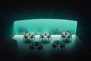 Under, il ristorante sottomarino più grande del mondo