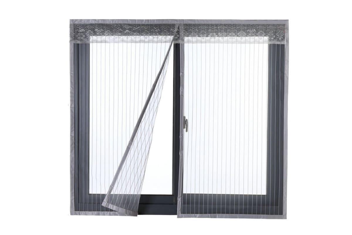 Zanzariera magnetica per finestra Icegrey