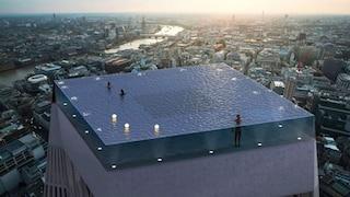 Infinity London, la prima piscina a sfioro con vista a 360° sul mondo