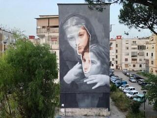 Napoli, la street art nel quartiere dell'Amica Geniale