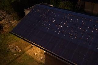 Knothole House, la casa col tetto che sembra un cielo stellato