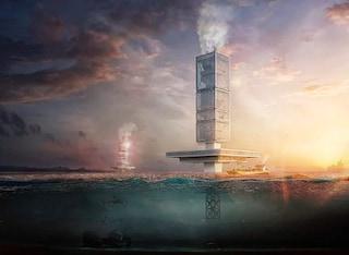 Filtration, il grattacielo galleggiante che ripulisce gli oceani