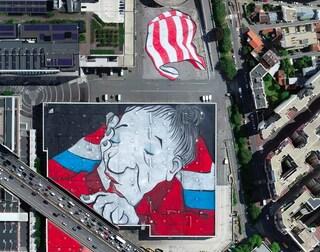 Parigi, Ella & Pitr realizzano il più grande murale d'Europa