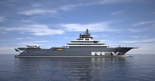 Rev Ocean, lo yacht più grande al mondo che ripulisce gli oceani
