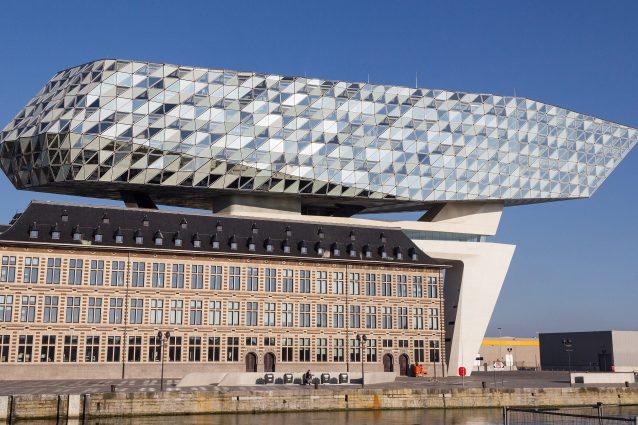 Antwerp Port House – Zaha Hadid, Anversa