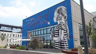 In Italia arrivano i murales che assorbono lo smog