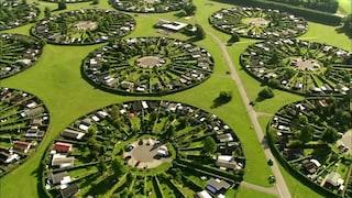 Brondby Haveby, la città della Danimarca fatta solo da cerchi