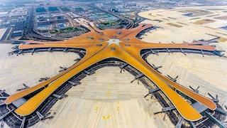 Ecco il Beijing Daxing International Airport firmato da Zaha Hadid: misura 97 campi da calcio