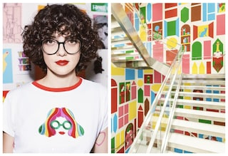 Chi è Olimpia Zagnoli, l'artista che ha decorato UNIQLO a Milano