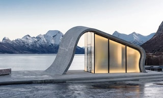 Uredd, i favolosi bagni pubblici di HZA in Norvegia