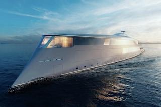 Aqua, il primo yacht al mondo che funziona ad acqua