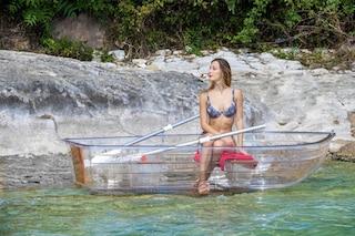 La prima barca al mondo completamente trasparente