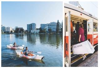 Inlet, il kayak portatile che diventa una borsa da viaggio