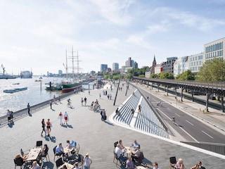 Amburgo, Zaha Hadid Architects firma il nuovo lungofiume