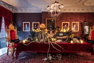 Halloween a casa della Famiglia Addams