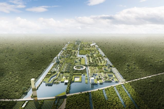 Smart Forest City. Credit courtesy of The Big Picture